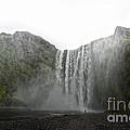 Iceland Skogar Waterfall 03 by Gregory Dyer