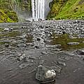 Iceland Skogar Waterfall 09 by Gregory Dyer