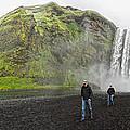 Iceland Skogar Waterfall by Gregory Dyer