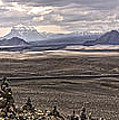 Iceland Stacked  Rocks Panorama by Gregory Dyer