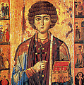 Icon Of Saint Pantaleon by Science Source