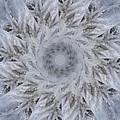 Icy Mandala 2 by Rhonda Barrett