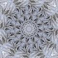Icy Mandala 3 by Rhonda Barrett