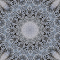Icy Mandala 4 by Rhonda Barrett