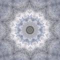Icy Mandala 5 by Rhonda Barrett