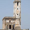 Iglesia De Las Salinas Cabo De Gata  by David Kleinsasser
