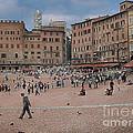 Il Campo Siena by Jim Wright