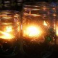 Illuminated Mason Jars by Christy Beal