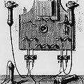 Illustration Of The Bell Telephone by Dr Jeremy Burgess