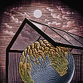 Illustration Of The Greenhouse Effect by Bill Sanderson