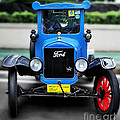 I'm Cute - 1922 Model T Ford by Kaye Menner
