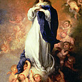 Immaculate Conception Of The Escorial by Esteban Murillo