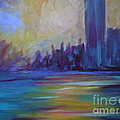 Impressionism-city And Sea by Soho