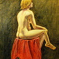 Impressionist Nude by Howard Bosler