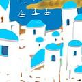 Impressions Of Greece by Larry Cirigliano