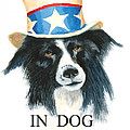 In Dog We Trust Greeting Card by Jerry McElroy