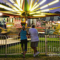 In Love At The Fair by Paul Ward