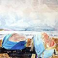 In Secca Sulla Spiaggia by Giovanni Marco Sassu