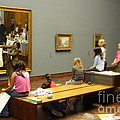 In The Museum by Tanya  Searcy