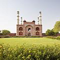 India, Uttar Pradesh, Agra, Sikandra, Akbar's Tomb by Bryan Mullennix