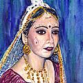 Indian Bride  by Clara Sue Beym