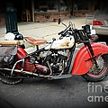 Indian Chief Motorcycle Rare by Paul Ward