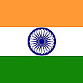 Indian Flag by Steev Stamford