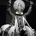 Indian Kathakali Dance Of Kerela 2 by Sumit Mehndiratta
