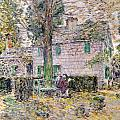Indian Summer In Colonial Days by Childe Hassam