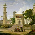 Indian Temple by Thomas Daniell