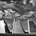 Indianapolis Pyramids 3 by David Haskett II