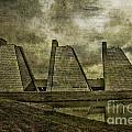 Indianapolis Pyramids Textured by David Haskett II