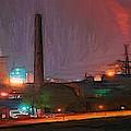 Industrial Lights by Steve K
