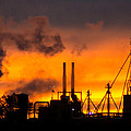 Industrial Strength Sunset by Bill Pevlor