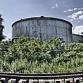 Industrial Tank by Tammy Wetzel