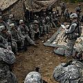 Infantrymen Receive Their Safety Brief by Stocktrek Images