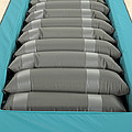 Inflated Hospital Air Mattress by Mark Sykes