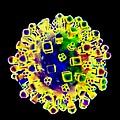 Influenza Virus, Artwork by Victor Habbick Visions