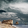 Infrared Aphrodite Rock by Stelios Kleanthous