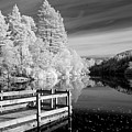 Infrared Glencoe Lochan by Billy Currie Photography