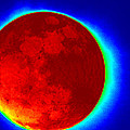 Infrared Super Moon 2012 by Sheri McLeroy
