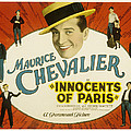 Innocents Of Paris, Maurice Chevalier by Everett