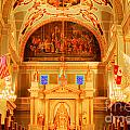 Inside St Louis Cathedral Jackson Square French Quarter New Orleans Accented Edges Digital Art by Shawn O'Brien