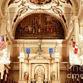 Inside St Louis Cathedral Jackson Square French Quarter New Orleans Diffuse Glow Digital Art by Shawn O'Brien