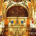Inside St Louis Cathedral Jackson Square French Quarter New Orleans Digital Art by Shawn O'Brien