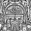 Inside St Louis Cathedral Jackson Square French Quarter New Orleans Photocopy Digital Art by Shawn O'Brien