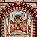 Inside St. Nicholas Chapel At A Greek Monastary In Florence Az by Matt Suess