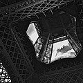 Inside The Eiffel Tower by Eric Tressler
