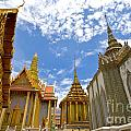 Inside The Grand Palace Bangkok by Charuhas Images