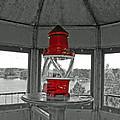 Inside The Lighthouse Tower #2. Uostadvaris. Lithuania. by Ausra Huntington nee Paulauskaite